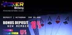 #pokerbintang #pokeronline # pokerindonesia  #dewapoker #judipoker #situspoker #pokerstars   #agenjudi Poker Online, Neon Signs