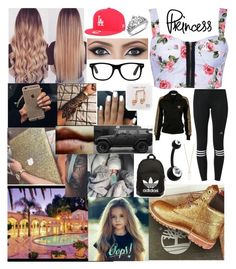 """Untitled #179"" by fairy-babes ❤ liked on Polyvore featuring New Era, Ally Fashion, adidas, adidas Originals, Wrangler, Happy Plugs and Forever 21"