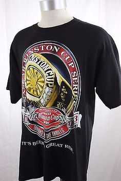 MENS-L-NASCAR-WINSTON-CUP-SERIES-1971-2003-ITS-BEEN-A-GREAT-RIDE-T-SHIRT-LARGE