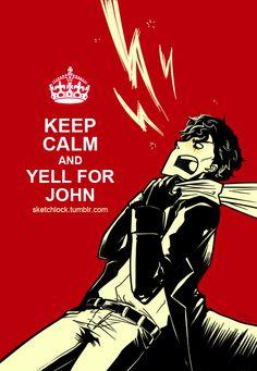 This would make an amazeballs t-shirt! Sherlock fanart by sketchlock. Click for blog.