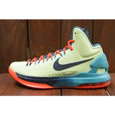 the latest 2192c 8b956 Nike KD V Galaxy All Star Area 72 New Detailed Pictures with Packaging  Liquid Lime Obsidian Sport Turquoise Total Crimson 583111 300