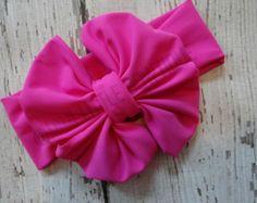 Rosa cabeza abrigo Boho de turbante-bebé por MimiLittleBowtique