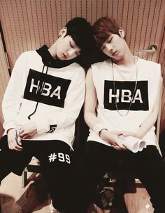 Bangtan Boys  Jungkook and Jin