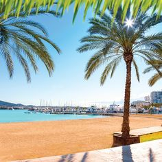 Book Ibiza holidays for just deposit. San Antonio Ibiza, Ibiza Holidays, Ibiza Town, Party Places, Balearic Islands, 5 Star Hotels, Lush, Destinations, Beach