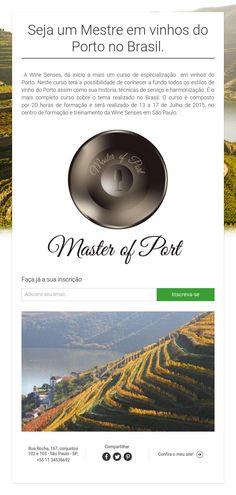 Seja um Mestre em vinhos do Porto no Brasil.