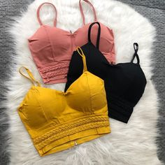 Girls Fashion Clothes, Girl Fashion, Girl Outfits, Fashion Outfits, Clothes For Women, Crop Top Outfits, Cute Casual Outfits, Victoria Secret Fashion, String Bikinis