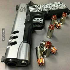knives, guns, and tactical gear : Photo Weapons Guns, Guns And Ammo, Rifles, Smith And Wesson 1911, Vrod Harley, Fire Powers, Cool Guns, Survival Tools, Tactical Gear