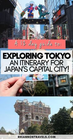A Tokyo Itinerary: 12 Day Guide to Exploring Japan's Capital City
