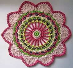 Passion Flower by Jane Crowfoot . Ravelry.