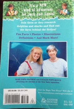 """10/$15 Magic Tree House Research Guide """"Dolphins and Sharks"""""""