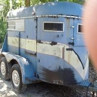 2 Horse trailer for sale in Pasco, Florida :: HorseClicks $700