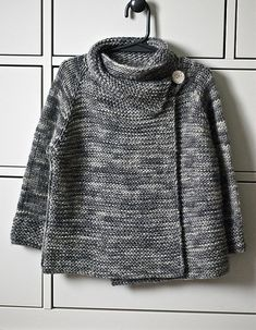 Baby Knitting Patterns For Kids Ravelry: sketchbook& Thirsty Rose wrap cardigan Baby Knitting Patterns, Knitting For Kids, Free Knitting, Knitting Projects, Crochet Patterns, Knitting Humor, Knitting Ideas, Knit Or Crochet, Crochet Poncho