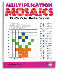 multiplication mosaics