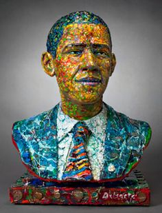'The Dream Keeper' Louis Delsarte Visions of Our President is a collective sculptural show created to recognize and celebrate the historical significance of the first African American President of the United States of America, Barack Obama. African American Figurines, American Art, Sculpture Art, Southwest Art, Art, African American Art, America Art, Avant Garde Art, American Artists