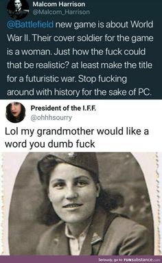 Tumblr Funny, Funny Memes, Hilarious, Historia Universal, Faith In Humanity Restored, Badass Women, Equal Rights, Patriarchy, History Facts