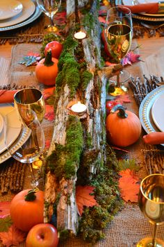 UrbanCountryStyle Woodlands Thanksgiving-Thinking ahead...Love this for Thanksgiving 2013