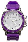 Purple Watch with Woven Rubber Purple Band - $19.45 at The Purple Store