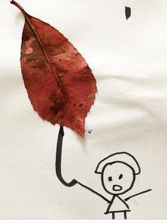 Leaf Art, Snoopy, Leaves, Artwork, Fictional Characters, Work Of Art, Auguste Rodin Artwork, Artworks, Fantasy Characters