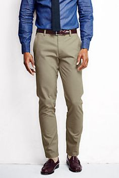 Men's Elston 608 Slim Fit Chino from Lands' End