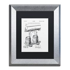 Trademark Fine Art Art Of Brewing Beer Patent White by Claire Doherty, Black Matte, Silver Frame 11x14-Inch Trademark Fine Art http://www.amazon.com/dp/B016BS7O7Q/ref=cm_sw_r_pi_dp_3Zsjwb1KMZ99N
