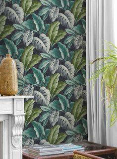 Verena | Papel pintado floral | Patrones de papel pintado | Papeles de los 70