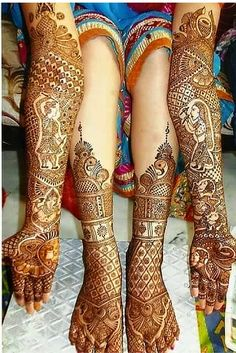 Mehndi is derived from the Sanskrit word mendhika. Mehndi Designs are also called as henna designs and henna tattoos.In Indian marriages there are so many things which are very important, in all mehndi also playing a great role in marriages. Rajasthani Mehndi Designs, Dulhan Mehndi Designs, Mehandi Designs, Henna Mehndi, Leg Mehndi, Latest Bridal Mehndi Designs, Legs Mehndi Design, Mehndi Design Pictures, Wedding Mehndi Designs