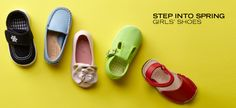 Step Into Spring: Girls' Shoes - http://ordeer.net/step-into-spring-girls-shoes/