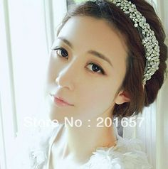 Aliexpress.com : Buy 2013 new Wholesale and Retail fashion  handmade crystal beads bridal wedding elastic hairband headband hair accessories from Reliable headwear suppliers on girlswalker Accessories $12.00