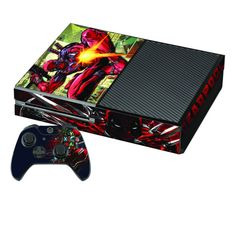 Video Games & Consoles Enthusiastic Deadpool Xbox One S 19 Sticker Console Decal Xbox One Controller Vinyl Skin
