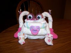 Diaper Frog Girl