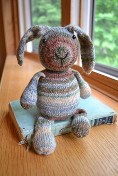 Donna is finishing up this darling bunny.  Ravelry: Opal Sock Yarn Bunny pattern by Susan B. Anderson