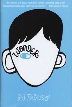 R. J. Palacio: Wonder    could not put it down   A must for adults and kids.