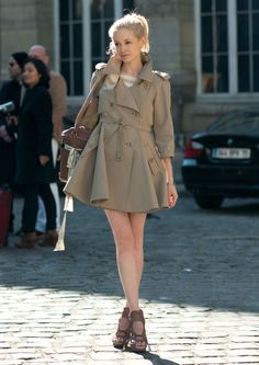 I love trench coats!
