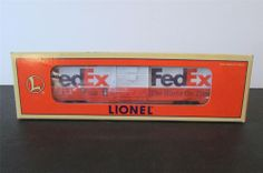 New? Lionel 6-19835 3464X Fed-Ex Animated Billboard Boxcar