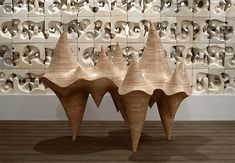 Fluid Wood Sculptures-3