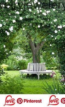 Gartenbank Um Den Baum 2019 Dekor Garden Gartenbank Dekor