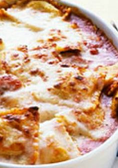 Baked Ravioli with Parmesan – Go Italian tonight with this delicious Baked Ravioli with Parmesan. With a prep time of just 30 minutes, it could become a new weeknight recipe favorite!