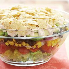 Layered Mexican Salad Recipe - Cook's Country