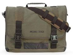 Mobile Edge ECO Laptop Messenger for Laptops up to Green in Computers/Tablets & Networking, Laptop & Desktop Accessories, Laptop Cases & Bags Best Messenger, Cool Messenger Bags, Canvas Messenger Bag, Satchel Bags For School, Smartphone, Laptop Bag For Women, Laptop Briefcase, Laptop Bags, Thing 1