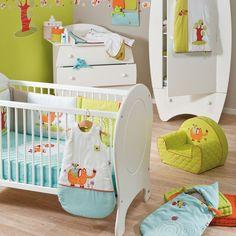 Collection Roudoudou et Rococo de Candide pour une chambre bébé thème éléphant