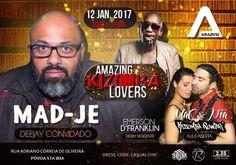 POWER Girls e POWER Boys bora lá AMANHÃ tornar o Amazing Klub ainda mais AMAZING? :) Aula Aberta Kizomba Power com MaC & Nia às 23h30! DJ MAD-JE e DJ EMERSON in dah House! #kizombapower #amazingklub @djmadje #kizomba #kizombalovers #zouk #semba #djemerson @nia_kizombapower