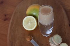 Ginger, Lemon, and Cayenne Shot  The body is cleansed by the ginger-lemon combo, and the cayenne pepper serves to speed the metabolism and to stimulate peristalsis. It also warms the body, providing heat. You will definitely feel it.