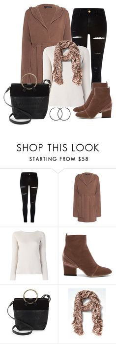 """Untitled #1587"" by gallant81 ❤ liked on Polyvore featuring River Island, 360 Sweater, 'S MaxMara, Jimmy Choo, Sergio Rossi and Banana Republic"