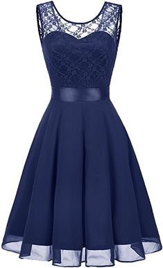 Amazing offer on BeryLove BeryLove Women's Short Floral Lace Bridesmaid Dress A-line Swing Party Dress online Long Dress Fashion, African Fashion Dresses, African Dress, Lace Bridesmaid Dresses, Homecoming Dresses, Skater Dresses, Prom, Pretty Dresses, Beautiful Dresses