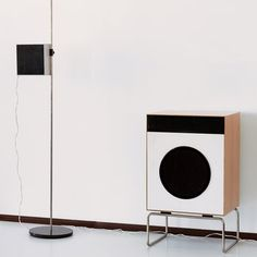 Dieter Rams for Braun, L2 and L01 speakers, 1958