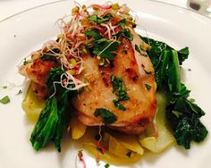 Passion For Food: Red Mullet, Chard on Potatoes bed