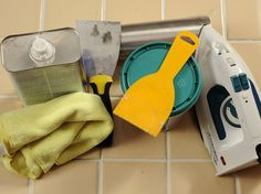 How to Fix Loose Ceramic Floor Tiles - We may have too many to fix, but good to know just in case.