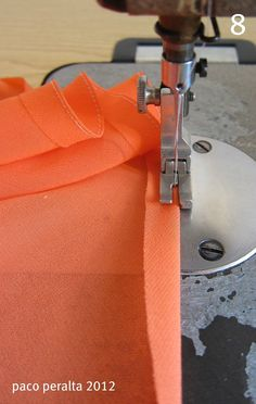 Detailed info for finishing seams on very sheer fabrics like gauze and chiffon. Will come in very handy in a few months