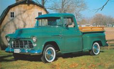 「chevy cameo pickup 1955」の画像検索結果