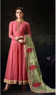 Pink Color Georgette,Net Anarkali Style Churidar Kameez | FH539081145 >Follow @heenastyle < #style #fashion #shopnow #buynow #shopping #onlineshop #onlinestore #onlineshopping #sell #sellnow #indian #gujarati #rajasthan #vadodara #indianfashion #indianstyle #valentinesday #longdress #heenastylesalwarkameez #heenastyle #heenastylesarees, #heenastylesalwarkameez, #heenastylekurtis, #heenastylelehengacholi, #heenastylekidscloth, #heenastylejewellry, #heenastyleshopping, #heenastylesale